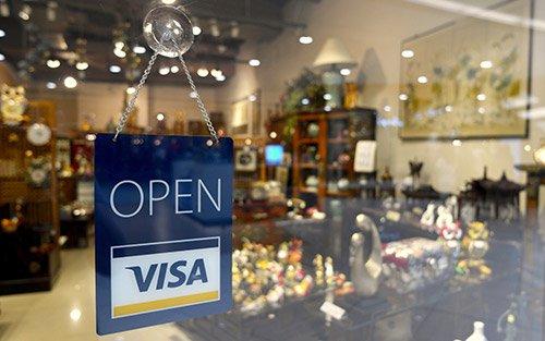 Chấp nhận thanh toán bằng thẻ Visa